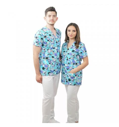 Bluza medicala imprimata...