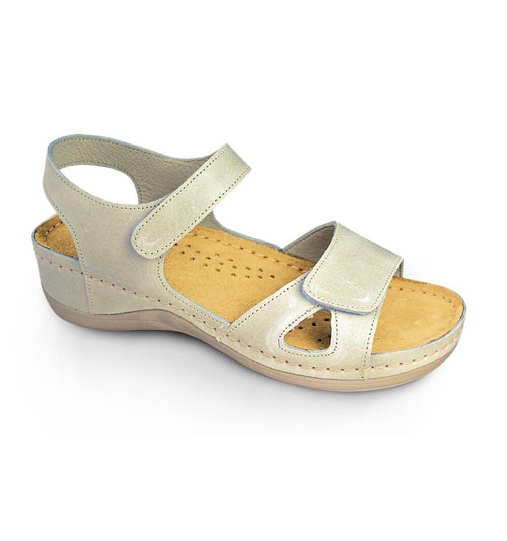 Sandale dama, din piele, de vara, Leon 935