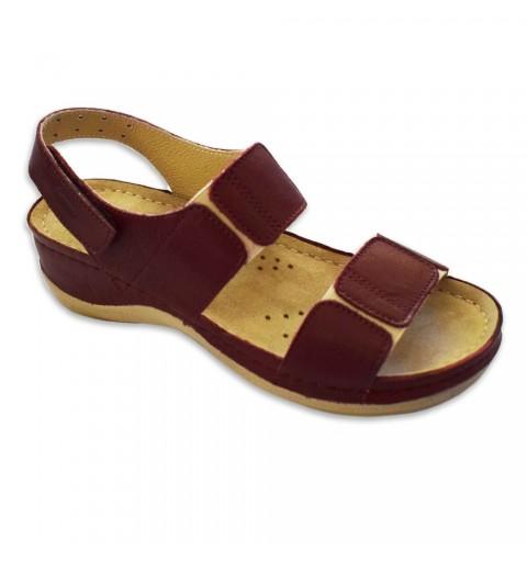 Sandale dama, din piele, de...